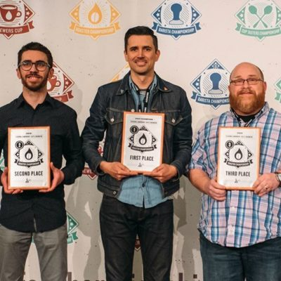 Congratulations @ianpicante @topecacoffee, @roasterevan @switchbackroasters, and @mark_michaelson @onyxcoffeelab on your amazing achievements in the US Roaster Championship! We continue to be inspired by your endless passion and unwavering commitment to the craft of exceptional #coffeeroasting. Thank you for all you do for the #coffeecommunity, which we're privileged to be a part of! 🙌🏽🏆#roasterchampionship #uscoffeechamps 📷: @specialtycoffeeassociation