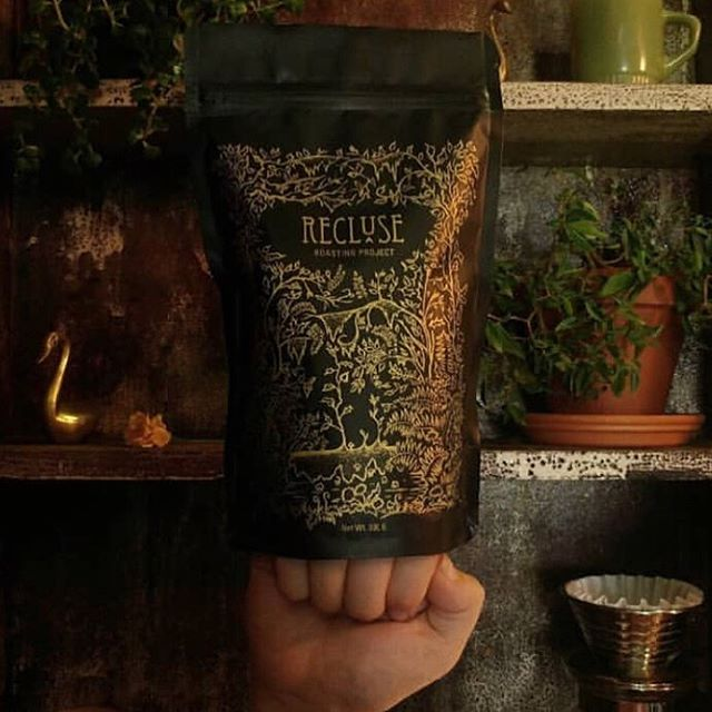 Coming soon to Richmond, VA, @recluseroastingproject #specialtycoffeeroaster #sneakpeek #coffeepackaging #customcoffeebags 📷: @recluseroastingproject