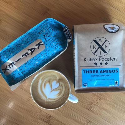 Always fresh roasted, certified fair trade and organic @kafiex, where a tree is planted for every bag of delicious coffee sold 🌱 #VancouverWA #specialtycoffeeroaster #coffeepackaging #customcoffeebags 📷: @kafiex