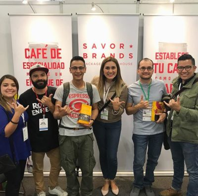 We so enjoyed meeting the inspiring and talented members of team @azaharcoffee today! Congrats on making it into the #barista semifinals and best of luck in the next round! 🙌🏽 🇨🇴 #cafesdecolombiaexpo2018 #specialtycoffee #cafeespecialidad #cafedecolombia