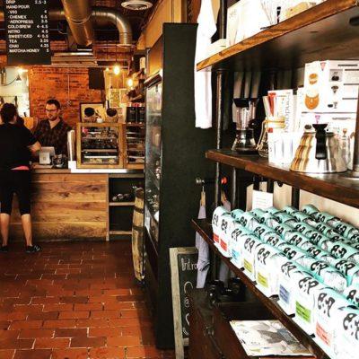 Quality abounds @eighthandroast in #NashvilleTN #specialtycoffeeroaster #freshroastedcoffee #ethicallysourced #coffeepackaging #customcoffeebags