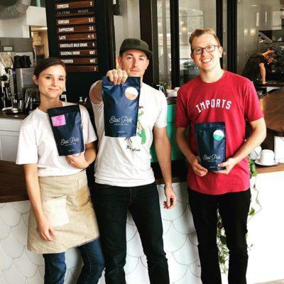 From Atlanta, for Atlanta @eastpolecoffeeco #specialtycoffeeroaster #atlcoffee #coffeepackaging #customcoffeebags #qualityinsideout