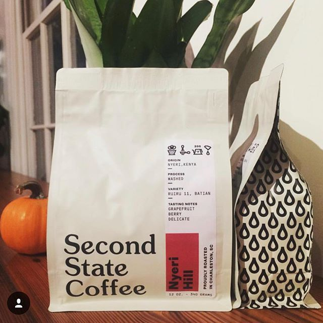 Proudly sourcing, roasting and crafting #specialtycoffees in #CharlestonSC @secondstatecoffee #qualityinsideout #coffeepackaging #customcoffeebags 📷: @secondstatecoffee