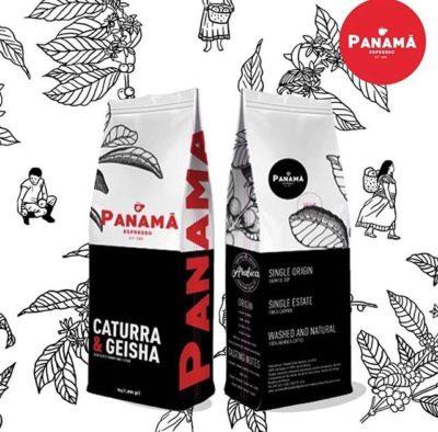"""Café de especialidad @cafepanamaespresso siempre fresco. """"De la finca a la taza"""" #panama #cafedepanama #cafedeorigen #panamacoffee #specialtycoffee #coffeepackaging #customcoffeebags 📷: @cafepanamaespresso"""