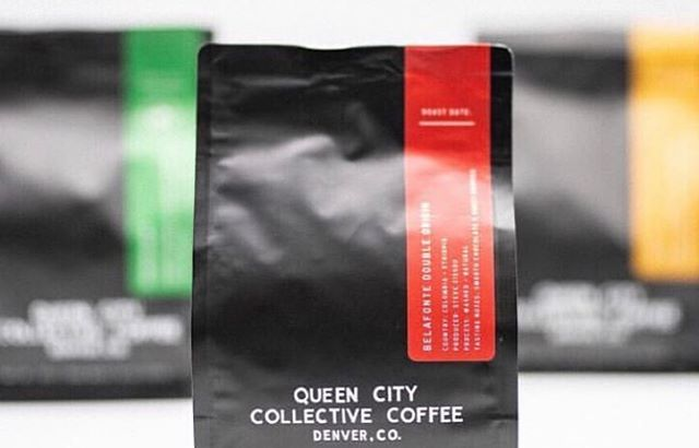 Origin-inspired, #Denver roasted @queencitycoffee #specialtycoffeeroaster #collectivecoffee #coffeepackaging #customcoffeebags 📷: @queencitycoffee, @oigaperoque