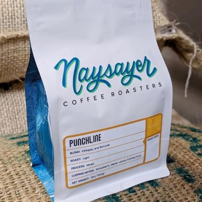Making craft coffee common @naysayercoffee #specialtycoffeeroaster #familyowned #coffeepackaging #customcoffeebags 📷: @naysayercoffee