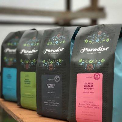 Sharing a taste of paradise @paradiseroasters #specialtycoffeeroaster #qualityinsideout #coffeepackaging #customcoffeebags 📷: @paradiseroasters