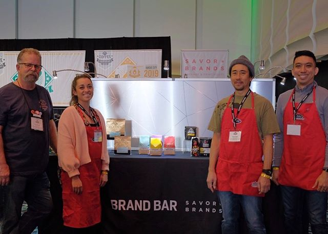 If you're @uscoffeechamps, stop by our Brand Bar featuring some of the latest and greatest in #coffeepackaging. If you have any questions, we'll be here bussing, serving as time keepers, and happily helping the roasters and competitors however best we can.  Hope to see you here! #uscoffeechamps #specialtycoffeeroaster #coffeebranding #customcoffeebags