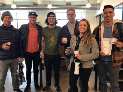 Great catching up with @messengercoffee and visiting their beautiful #roasterycafe! #specialtycoffeeroaster #kansascitycoffee #coffeeforthepeople #coffeepackaging