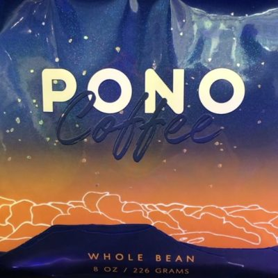 Have you seen our latest edition of Pono? We printed matte varnish over holographic material for subtle sparkle and gave a classic style a modern makeover with a sleek silhouette. #coffeepackaging #customcoffeebags #zerowastecoffeepackaging #coffeebranding