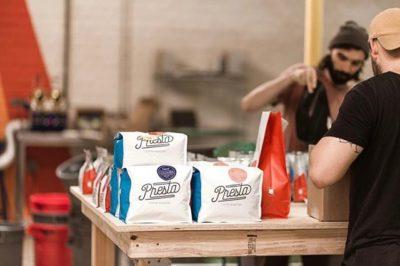 Just Making Beautiful Coffee. @prestacoffee #prestacoffee #specialtycoffeeroaster #coffeepackaging #customcoffeebags 📷: @prestacoffee