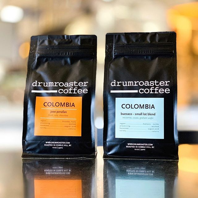 Roasting delicious coffee in Cobble Hill, BC, Canada, since 2007 @drumroaster #drumroastercoffee #specialtycoffeeroaster #coffeepackaging #customcoffeebags 📷: @drumroaster