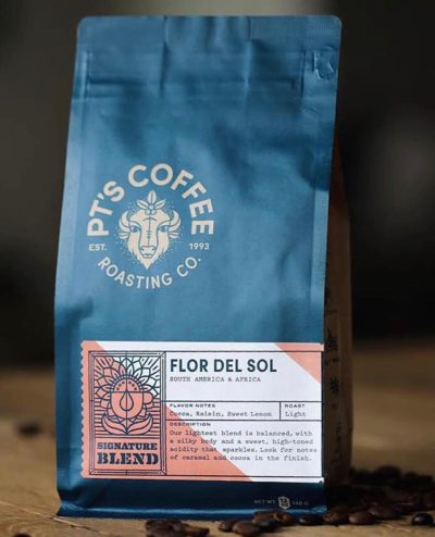@ptscoffee exceptional coffee, life-long friendships, and the wisdom to appreciate both #ptscoffee #specialtycoffeeroaster #coffeepackaging #customcoffeebags 📷: @ptscoffee