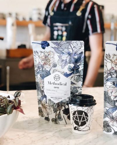 Beautifully sourced, roasted & packaged @methodicalcoffee #enjoymethodical #specialtycoffeeroaster #coffeepackaging #customcoffeebags 📷: @methodicalcoffee