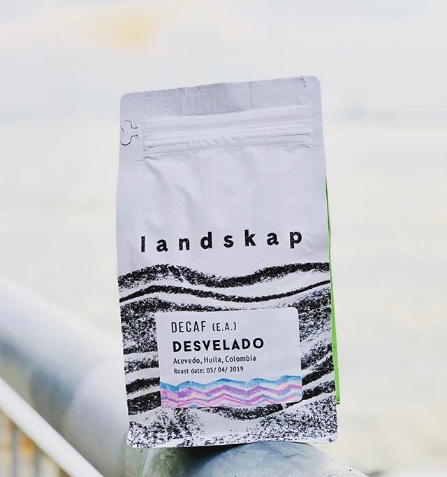Exceptional coffee sourced directly from exceptional farmers @landskap_nyc #brooklyncoffee #specialtycoffeeroaster #coffeepackaging #customcoffeebags