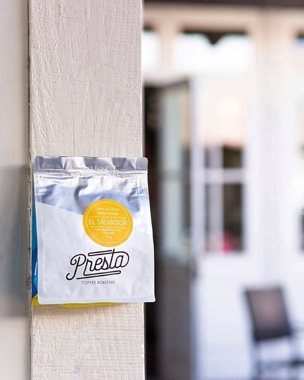 Making beautiful coffee in Tucson, AZ @prestacoffee #prestacoffee #specialtycoffeeroaster #coffeepackaging #customcoffeebags 📷: @prestacoffee