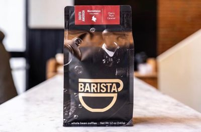 Fine Coffee Purveyors @baristapdx #baristapdx #specialtycoffeeroaster #coffeepackaging #customcoffeebags 📷: @baristapdx