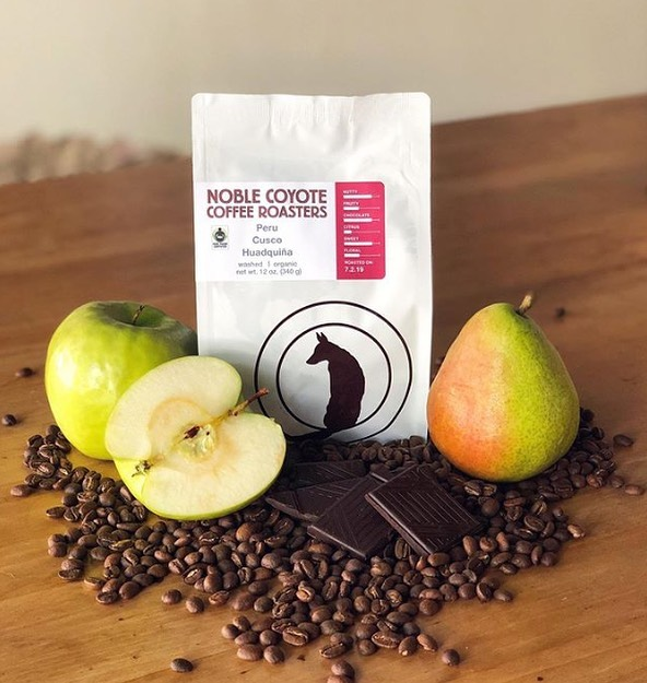 @noblecoyotecoffee Middlemen who aid, support, & invest in the farmers who supply them #noblecoyotecoffee #specialtycoffeeroaster #coffeepackaging #customcoffeebags 📷: @noblecoyotecoffee