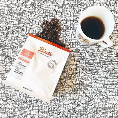Happy 4th Birthday @bindlecoffee! 🎉🥳 #bindlecoffee #sitandsavor #specialtycoffeeroaster #coffeepackaging 📷: @bindlecoffee
