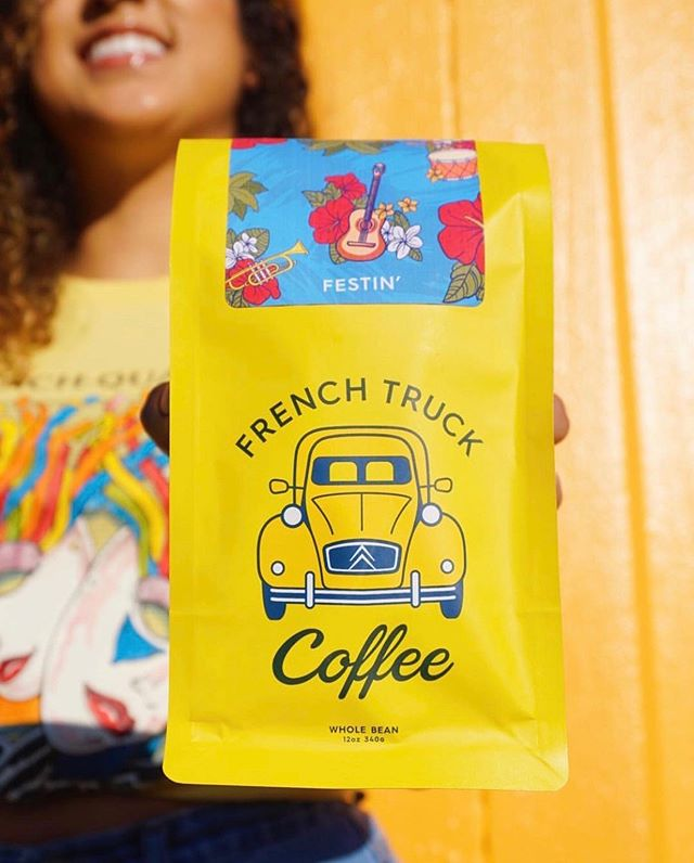 @frenchtruck Roasting & serving delicious coffee with a smile in New Orleans, Baton Rouge & Memphis #frenchtruckcoffee #specialtycoffeeroaster #coffeepackaging #customcoffeebags 📷: @frenchtruck
