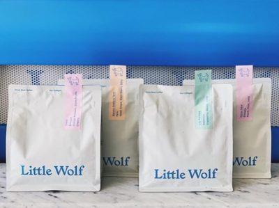 @lilwolfcoffee Good Coffee & Companions #littlewolfcoffee #specialtycoffee #coffeepackaging #customcoffeebags 📷: @lilwolfcoffee