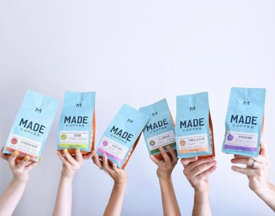 @madecoffee Roasting, Brewing and Canning delicious, coffee out of St. Petersburg, Florida☀️ #madecoffee #specialtycoffee #coffeepackaging #customcoffeebags 📷: @madecoffee