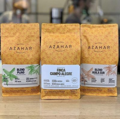 @azaharcoffee, un mejor café en el mundo.⠀ #azaharcoffee #specialtycoffeeroaster #coffeepackaging #customcoffeebags⠀ 📷: @azaharcoffee