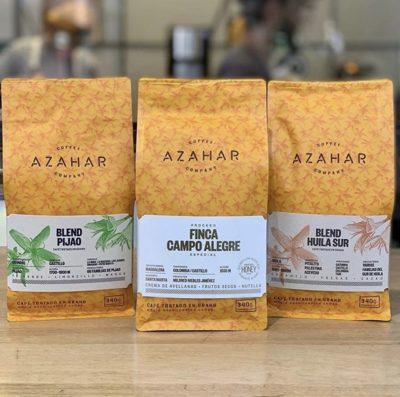 @azaharcoffee, un mejor café en el mundo.⠀ #azaharcoffee #specialtycoffeeroaster #coffeepackaging #customcoffeebags⠀ 📷: @azaharcoffee