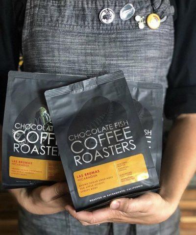 Making coffee approachable @chocfishcoffee ⠀ #chocfishcoffee #specialtycoffeeroaster #coffeepackaging #customcoffeebags⠀ 📷: @chocfishcoffee