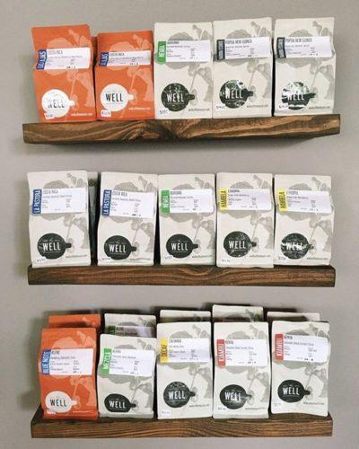 @wellcoffeehouse Where Coffee Changes Lives⠀ #thewellcoffeehouse #specialtycoffeeroaster #coffeepackaging #customcoffeebags⠀ 📷: @wellcoffeehousefishers