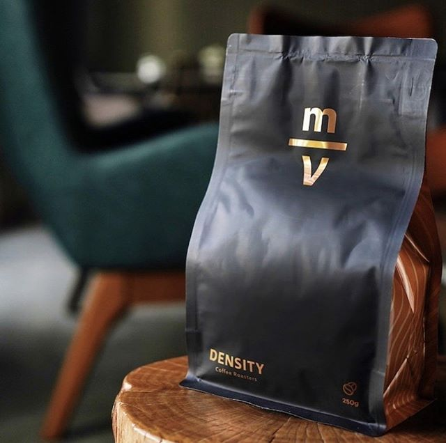 Offering quality, depth and luxury through the finest coffees @densitycoffee⠀ #densitycoffee #specialtycoffeeroaster #coffeepackaging #customcoffeebags⠀ 📷: @densitycoffee